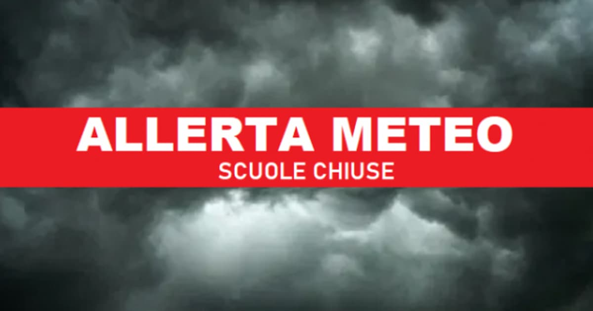 In risposta all'ordinanza del Sindaco di Livorno di cui riportiamo il link (http://www.comune.livorno.it/articolo/scuole-chiuse-venerdi-25-settembre-allerta-meteo-codice-arancione-mareggiate-vento), le scuole del Polo Scolastico FMA, Istituto Maria Ausiliatrice e Istituto Santo Spirito, VENERDI' 25 SETTEMBRE 2020 saranno chiuse per allerta meteo.